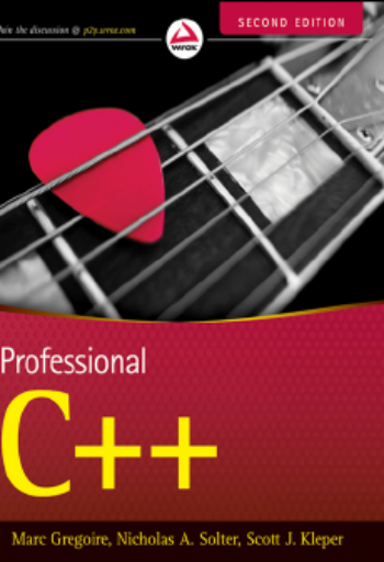 Professional C++, 2nd Edition