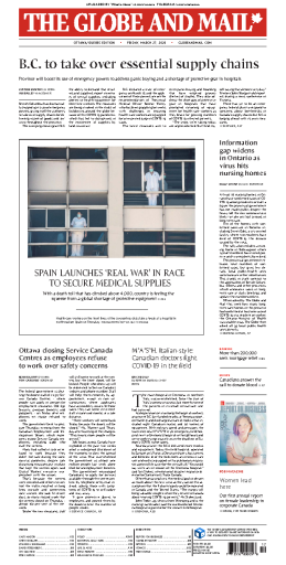 The Globe and Mail - 27.03.2020