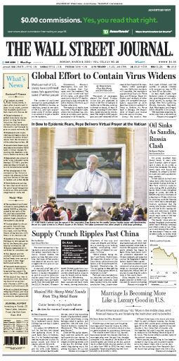 The Wall Street Journal - 09.03.2020