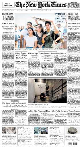 The New York Times - 08.08.2019