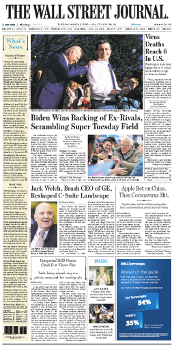 The Wall Street Journal - 03.03.2020