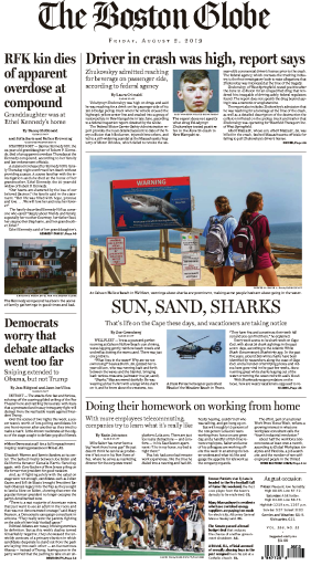 The Boston Globe - 02.08.2019