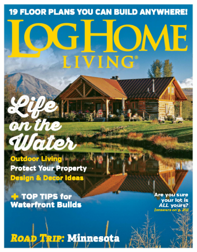 Log Home Living – August 2019