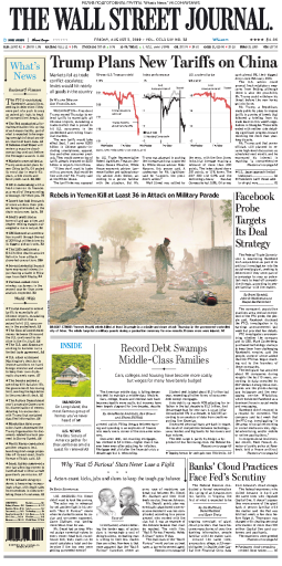 The Wall Street Journal - 02.08.2019