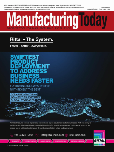 Manufacturing Today – July 2019
