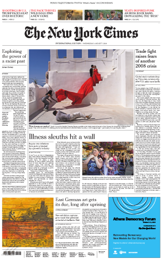 The New York Times International - 07.08.2019