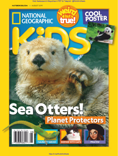National Geographic Kids - USA (2019-08)