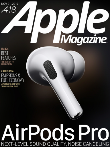 Apple Magazine - USA - Issue 418 (2019-11-01)