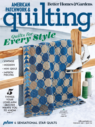 American Patchwork & Quilting - USA (2020-02)