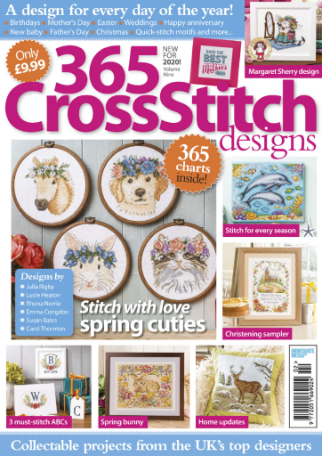 365 Cross Stitch Designs - UK (2020-02)