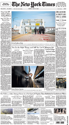 The New York Times - USA (2020-07-27)