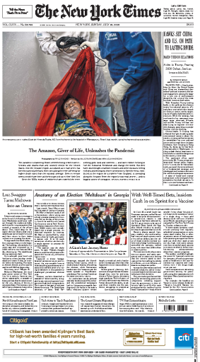 The New York Times - USA (2020-07-26)
