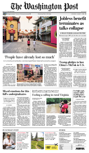 The Washington Post - USA (2020-08-01)