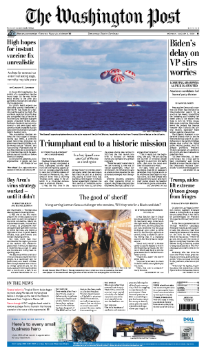 The Washington Post - USA (2020-08-03)