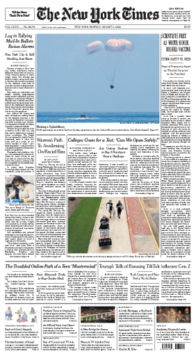 The New York Times - USA (2020-08-03)