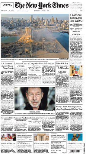 The New York Times - USA (2020-08-06)