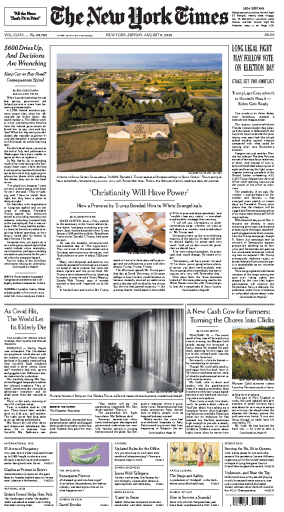 The New York Times - USA (2020-08-09)