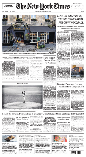 The New York Times - USA (2020-10-10)