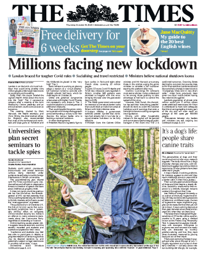 The Times - UK (2020-10-15)