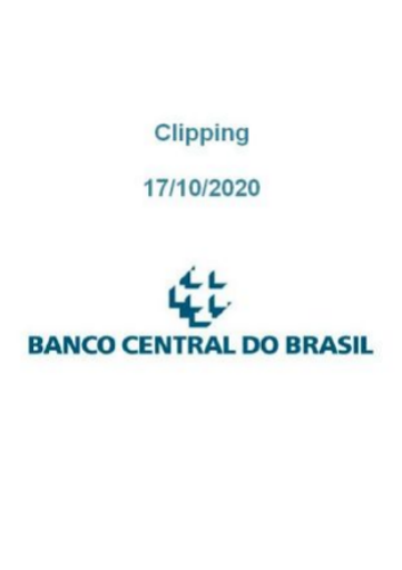 Clipping Banco Central (2020-10-17)