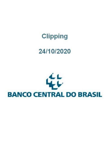 Clipping Banco Central (2020-10-24)