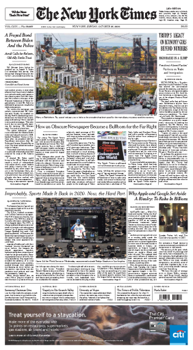 The New York Times - USA (2020-10-25)
