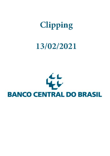 Clipping Banco Central (2021-02-13)