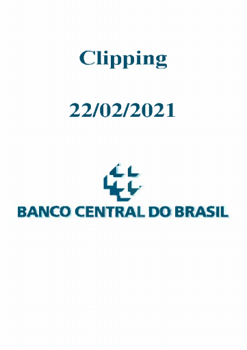 Clipping Banco Central (2021-02-22)