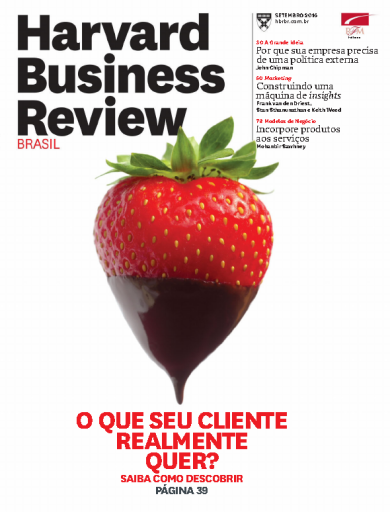 Harvard Business Review Brasil - Setembro 2016