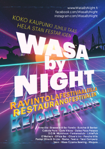 Wasa by Night 2019
