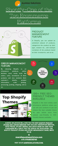 Shopify-One of the Top Ecommerce Platforms