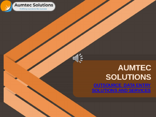 Outsource Data Entry Solutions And Services