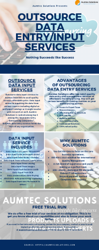 Outsource Data Entry & Input Services