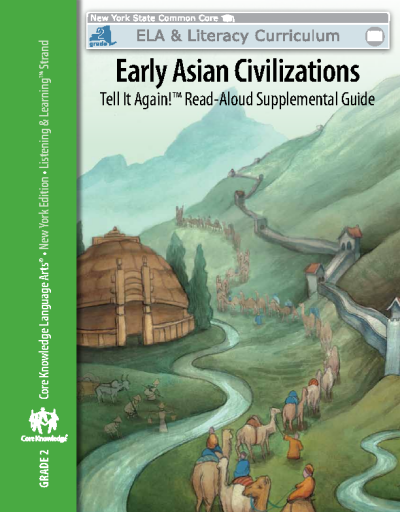 Grade 2 - Early Asian Civilizations