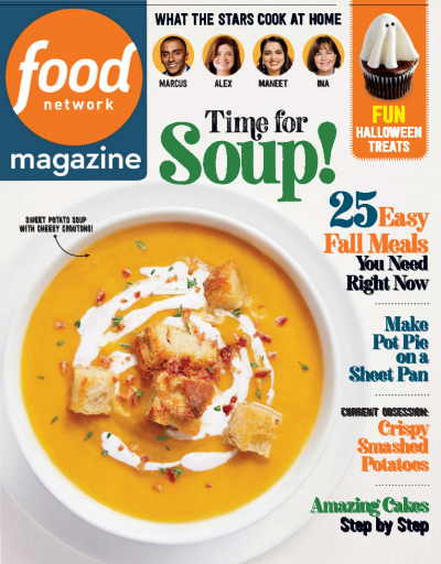 Food Network Magazine - (10)October 2020