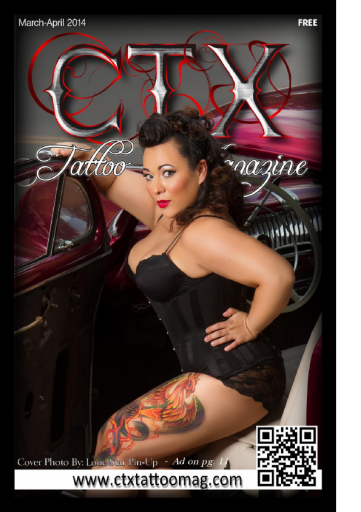 CTX Tattoo Magazine March-April 2014